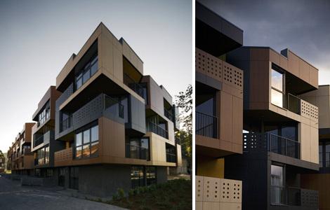 Архитектурный Тетрис от словенского Ofis