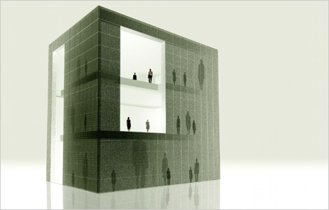 Tokujin Yoshioka - Light Transmissible Blocks Presentation Plan