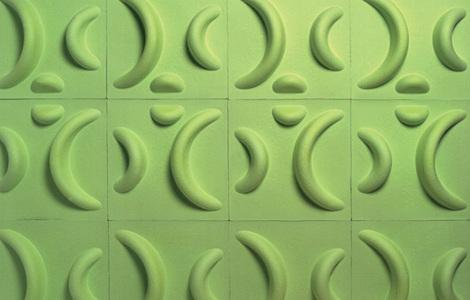 Джейм Салм (Jaime Salm). 3D-обои из переработанной бумаги