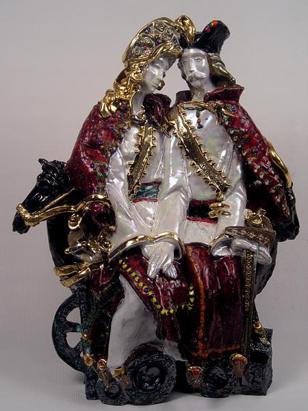 Андрій Корвач - Гуцульське весілля(колекція Ігора Фіглюса, США)