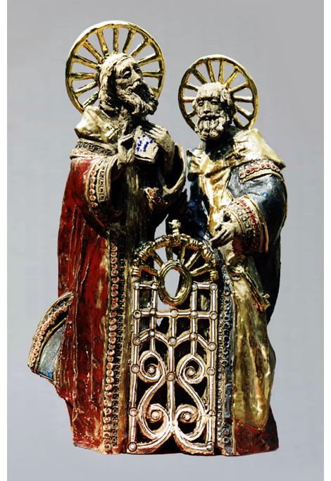 Андрій Корвач - Св. Петро та Павло (колекція Маркіяна Сілецького, США)