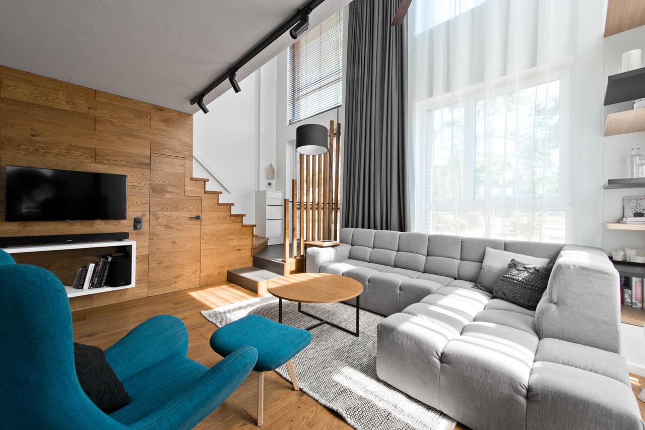 Interjero Architektė (Литва). Лофт в Вильнюсе