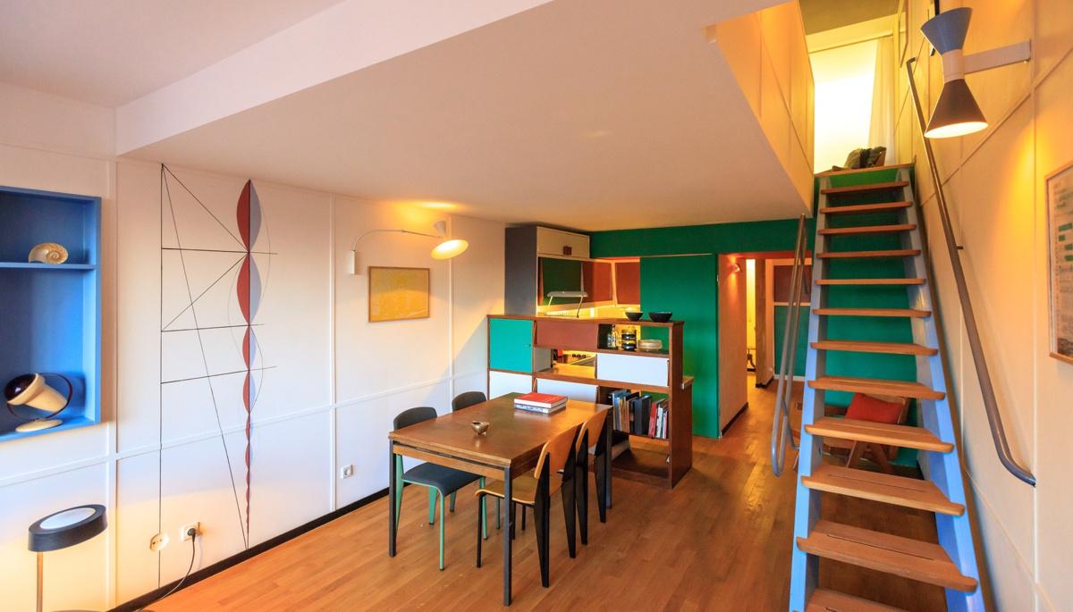 Philipp Mohr Design Studio (Германия). Квартира с дизайном Ле Корбюзье