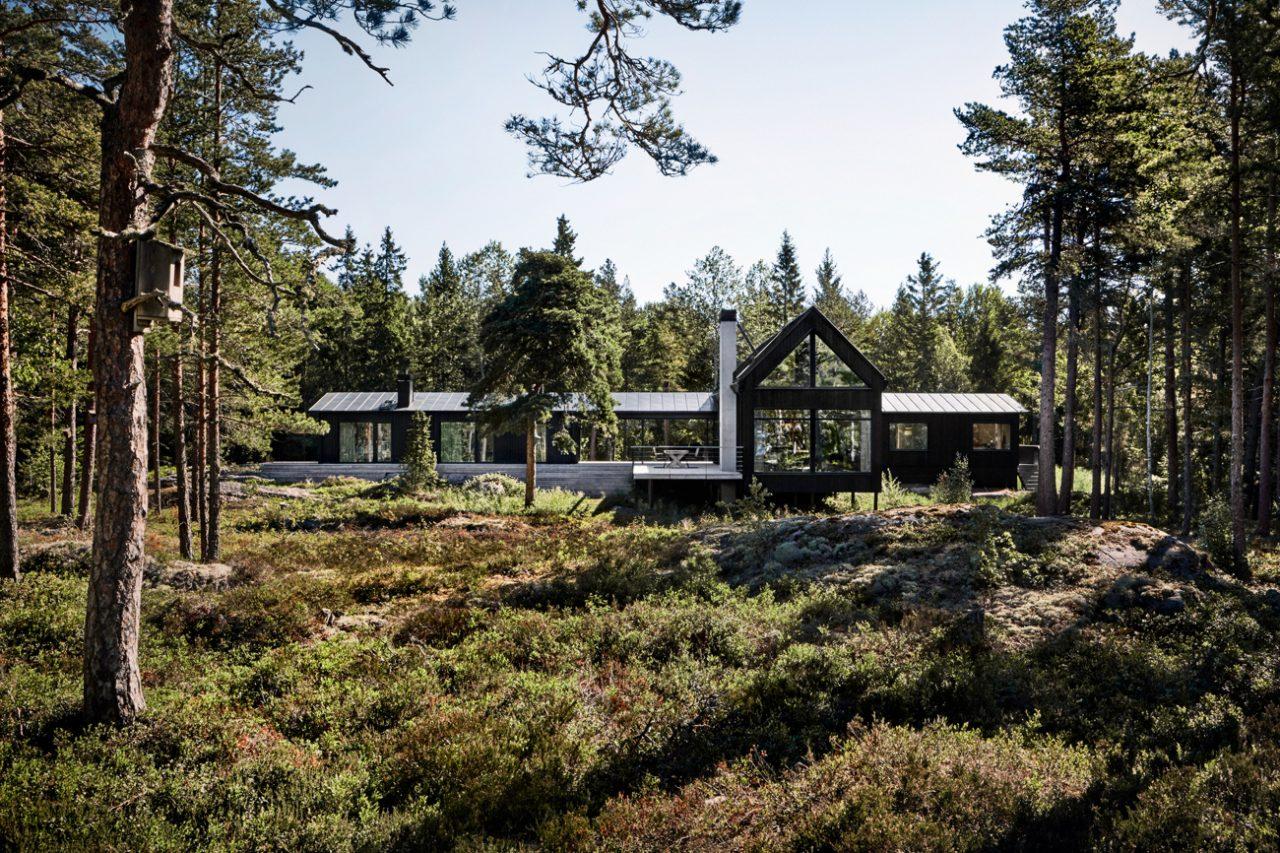 Kod Arkitekter (Швеция). Дача в скандинавском стиле