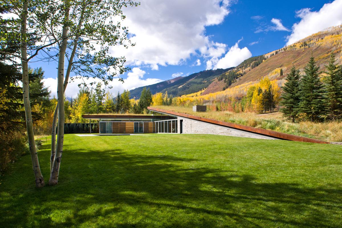 Gluck+ (США). Эко-дом в Колорадо