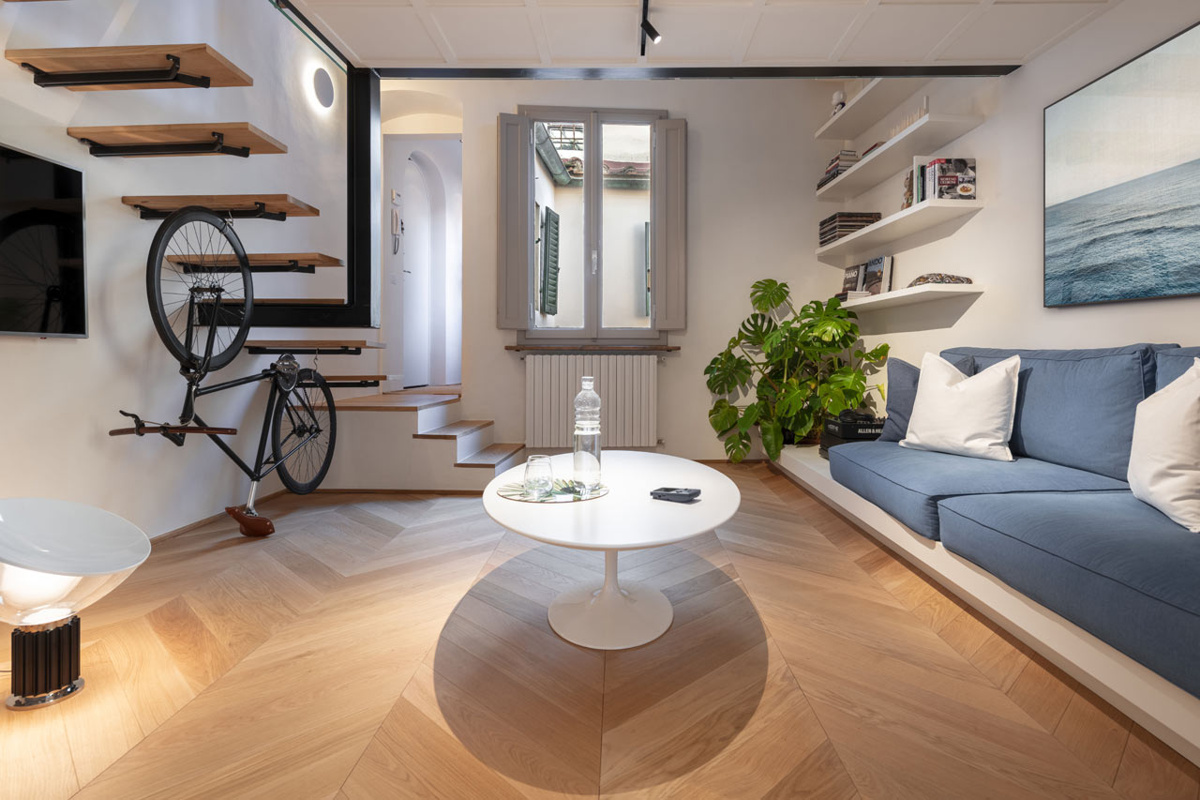 Perattelli Architetture (Италия). Уютная квартира во Флоренции