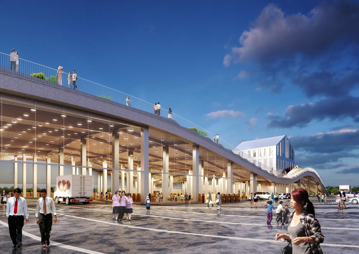MVRDV (Нидерланды). Рынок с парком на крыше