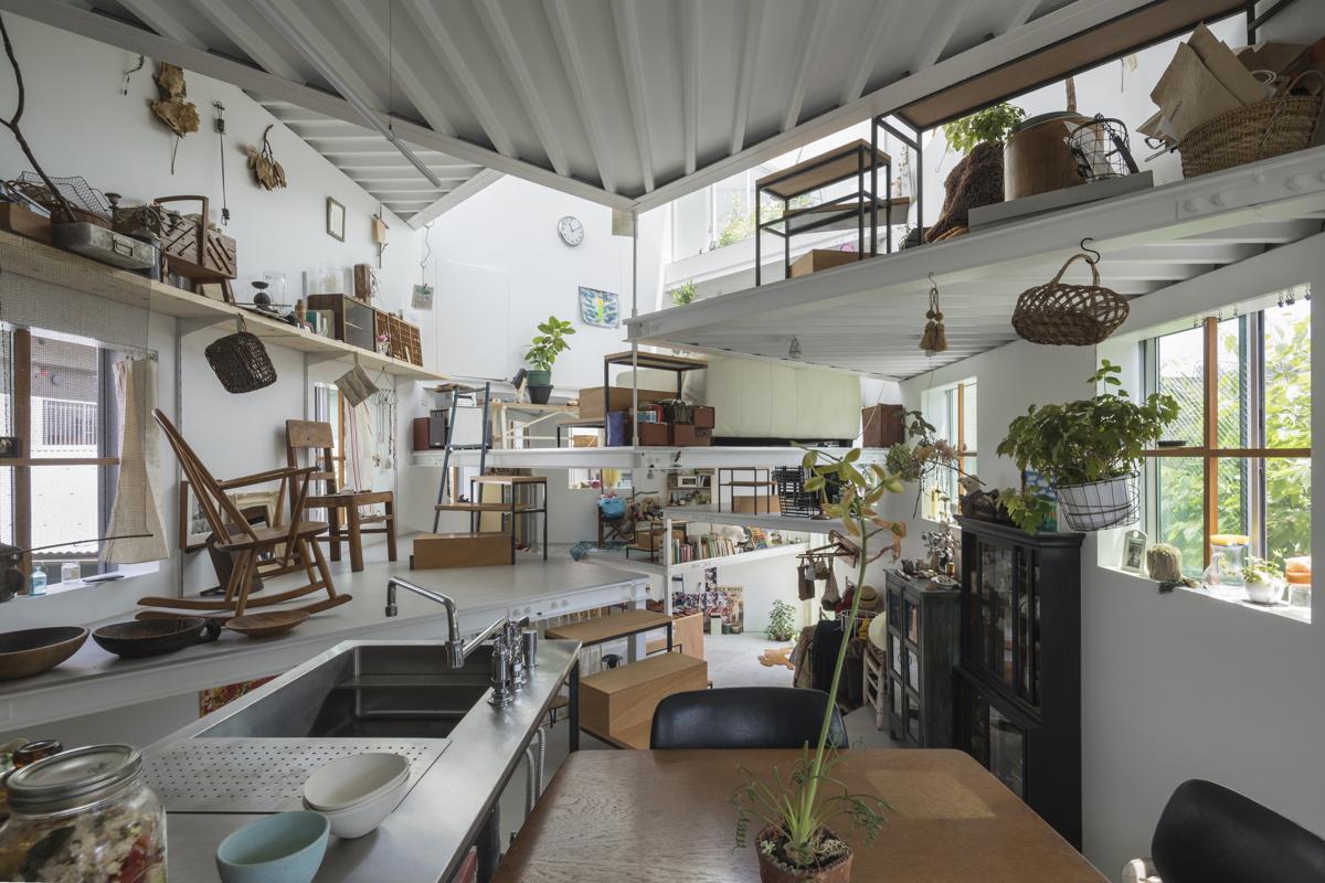 Tato Architects (Япония). Дом без внутренних перегородок