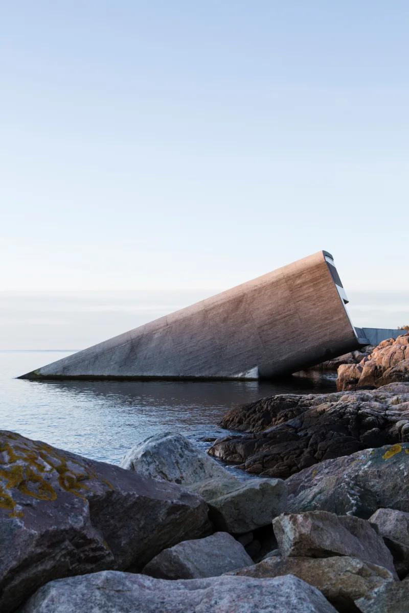 Snøhetta (Норвегия). Ресторан под водой