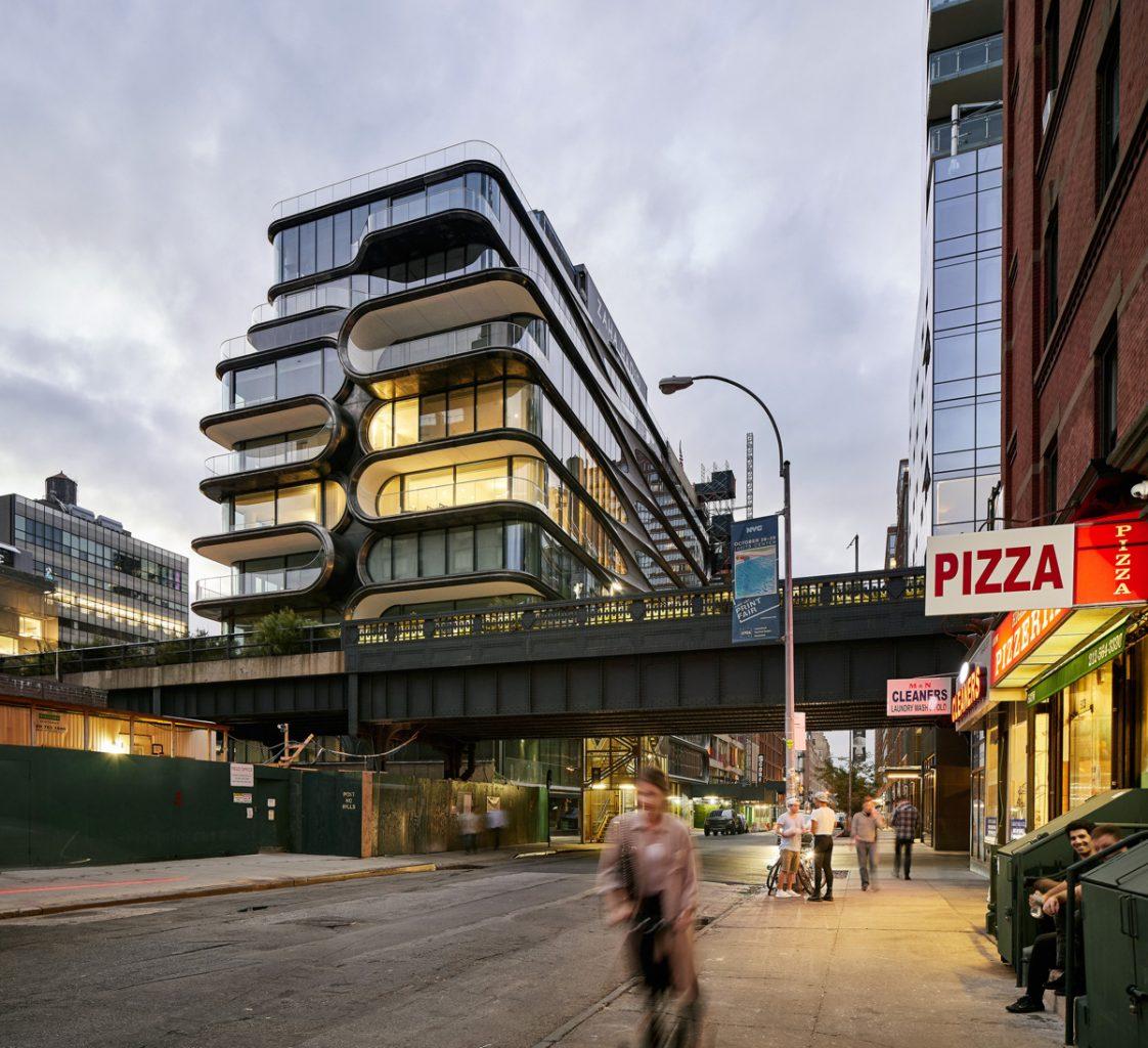 Zaha Hadid Architects (Великобритания). Жилой дом в Нью-Йорке
