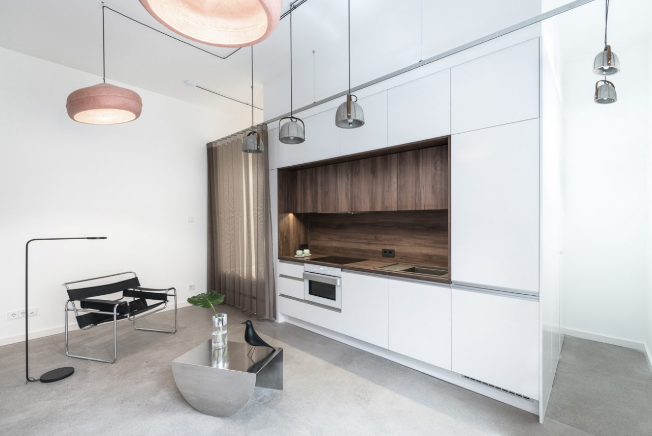 Batlab architects (Венгрия). Квартира-трансформер