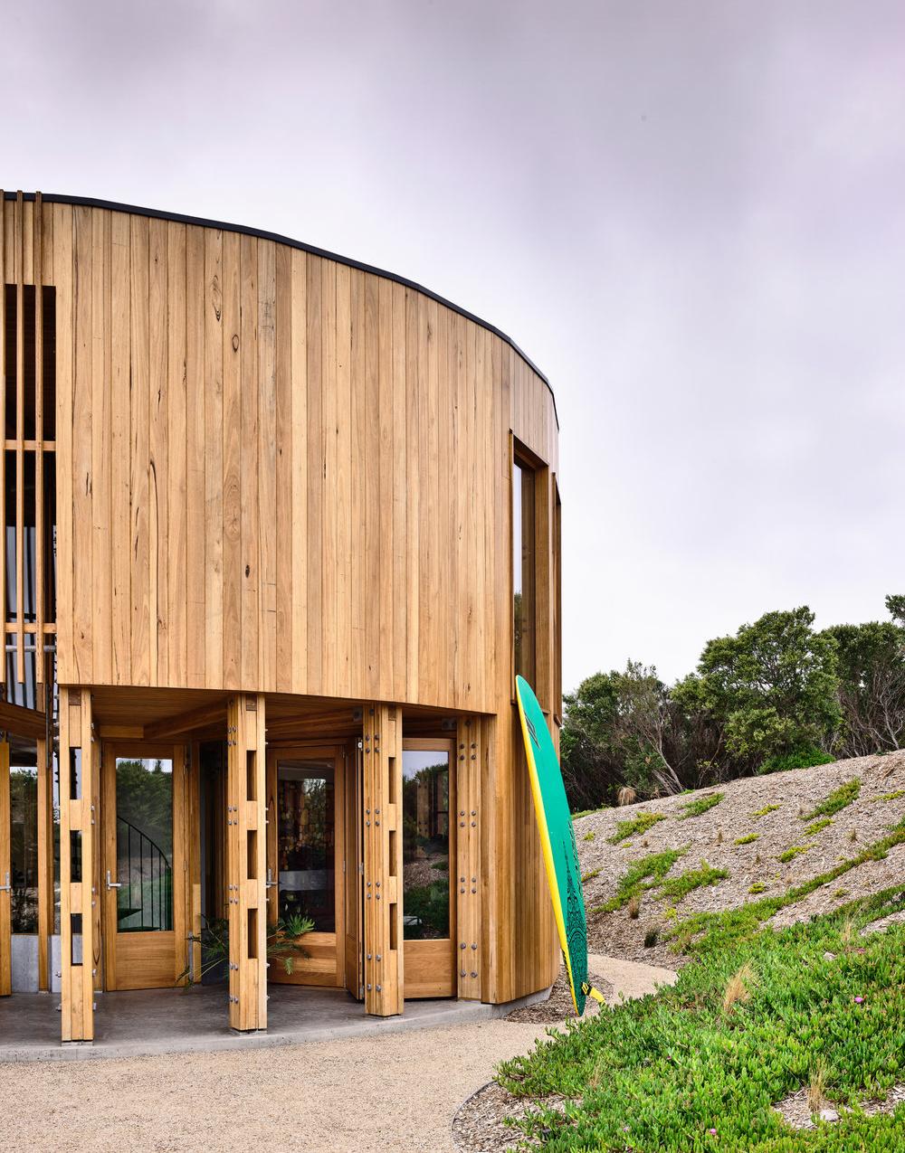 Austin Maynard Architects (Австралия). Круглая дача