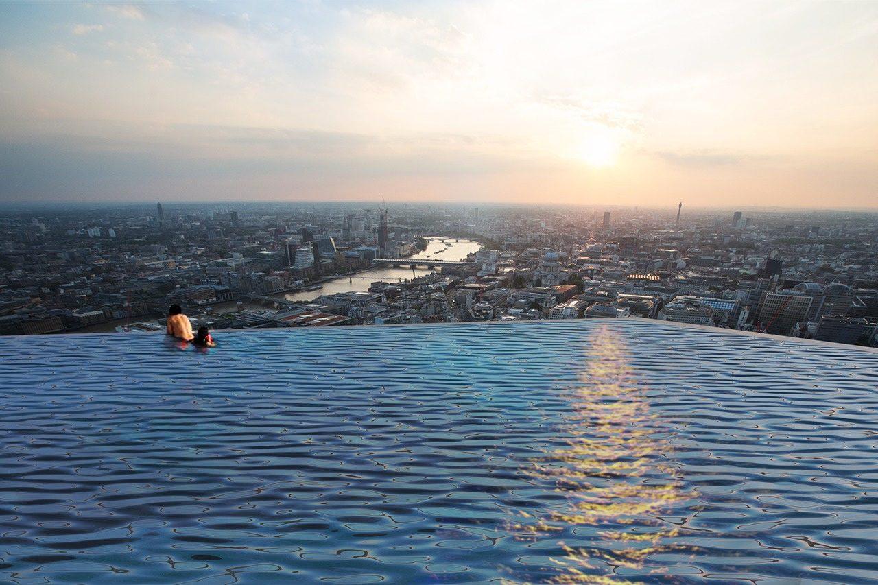 Compass Pools (Великобритания). Инфинити-бассейн на лондонском небоскребе