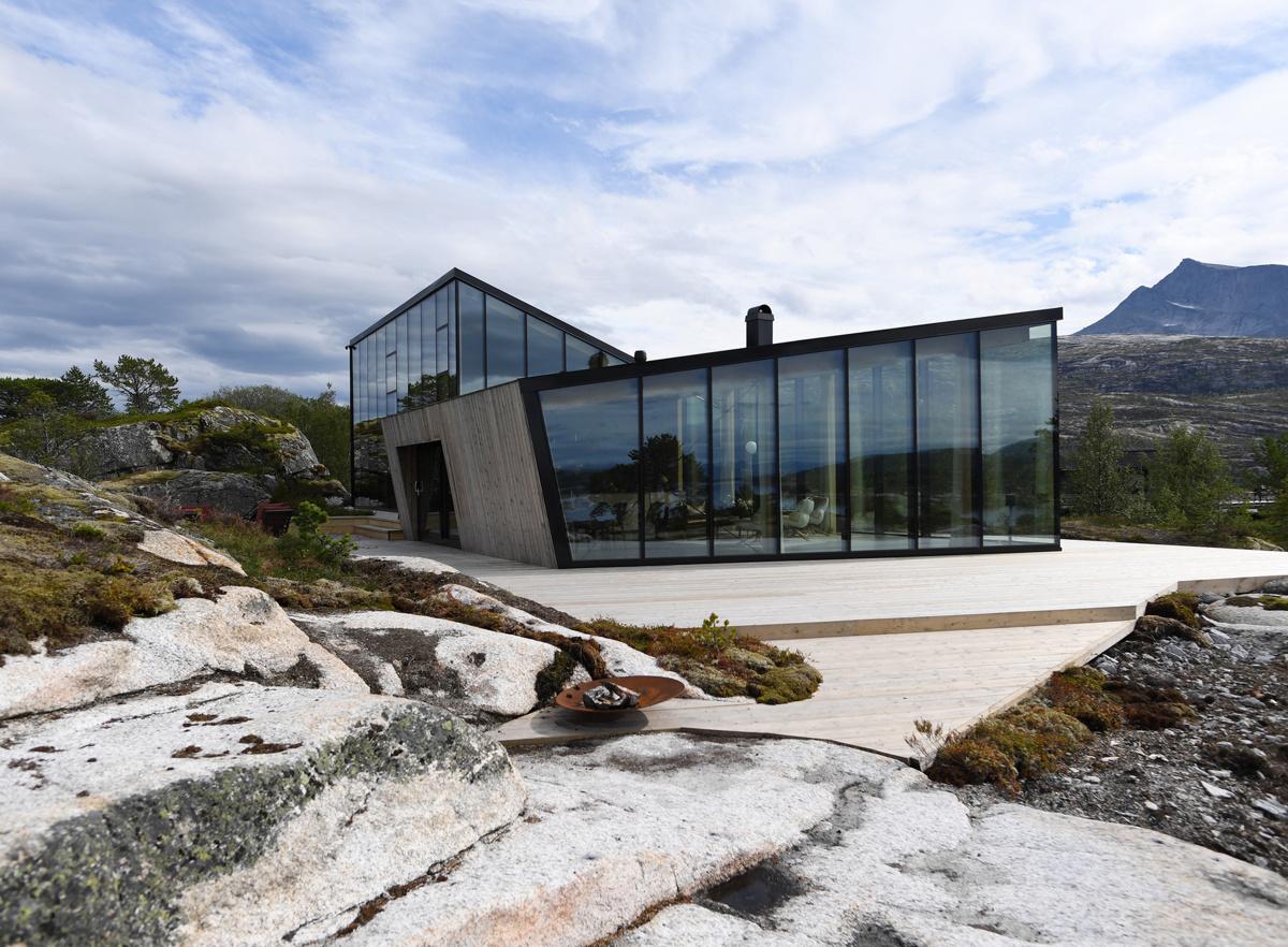 Stinessen Arkitektur (Норвегия). Дом с видом на фьорд