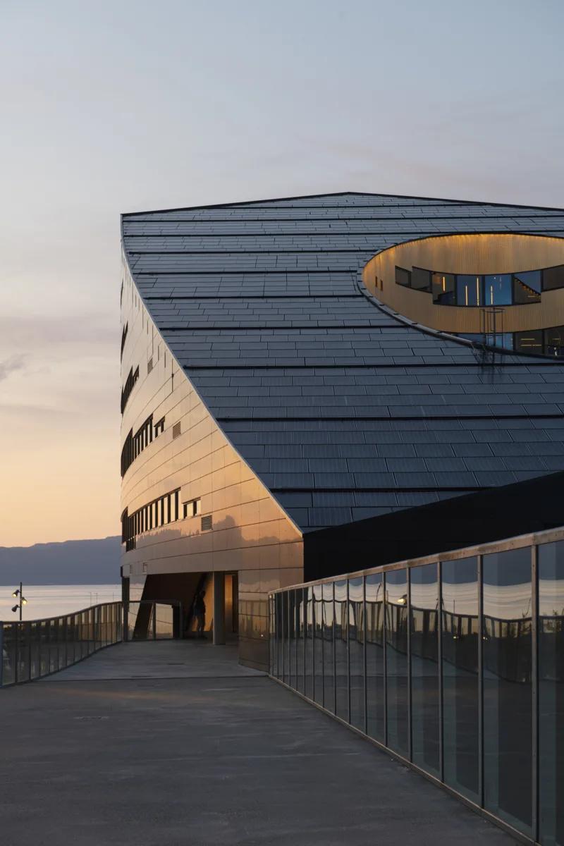 Snøhetta (Норвегия). Самая экологичная электростанция в мире