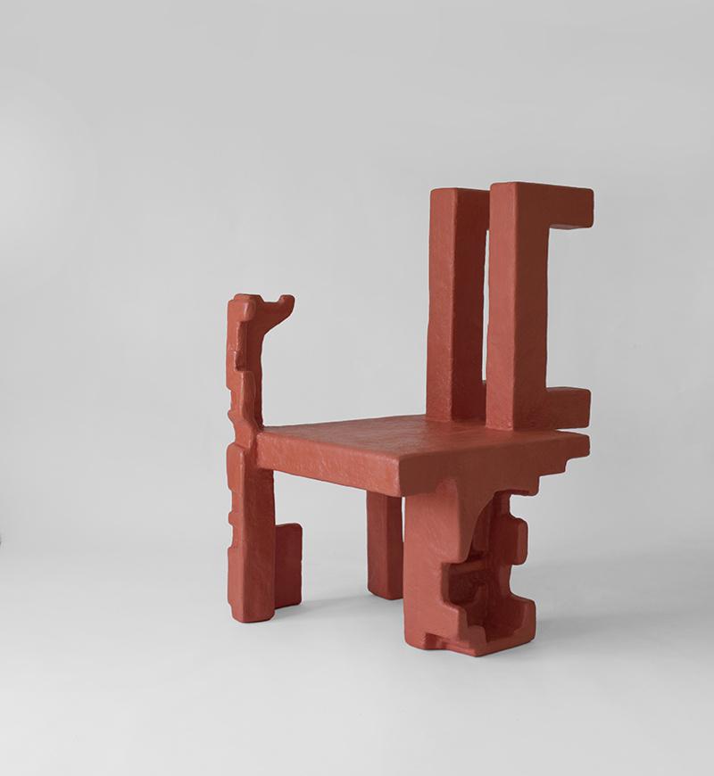 Savvas Laz (Греция). Мебель из пенопласта