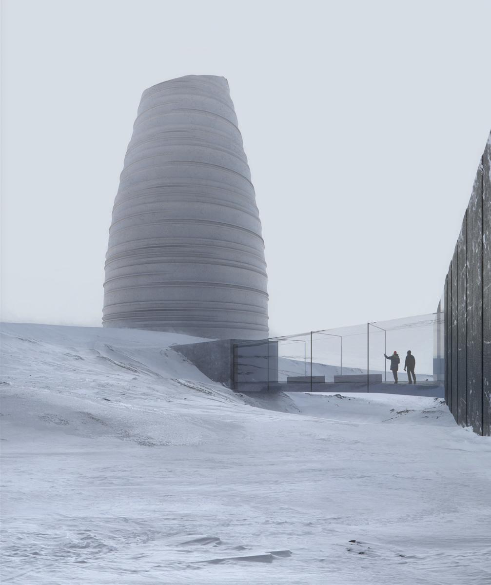 Snøhetta (Норвегия). Центр арктического хранилища