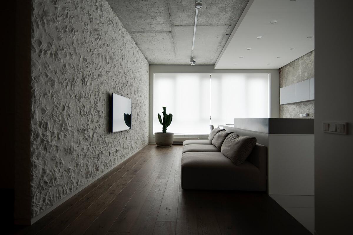 Sergey Makhno Architects (Украина). Интерьер как полотно