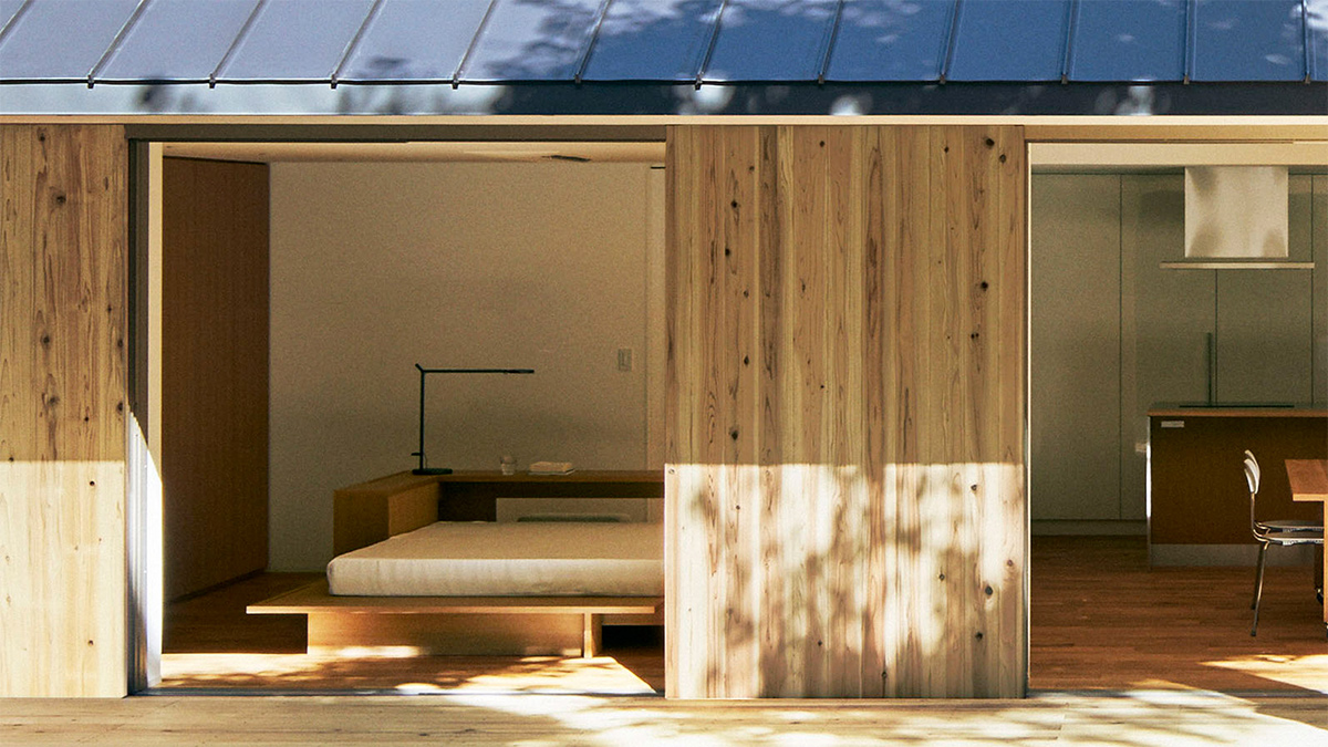 Muji (Япония). Самодельный дом