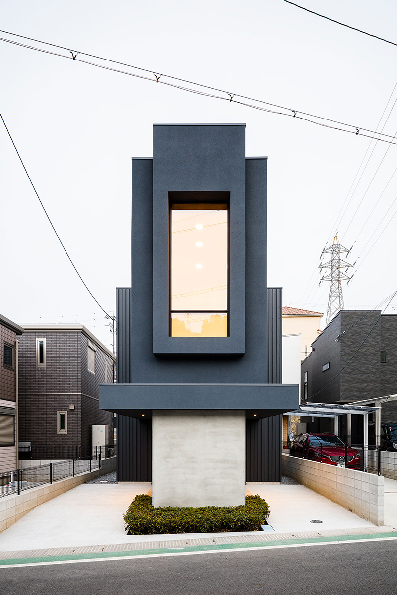 FORM / Kouichi Kimura Architects (Япония). Узкий дом