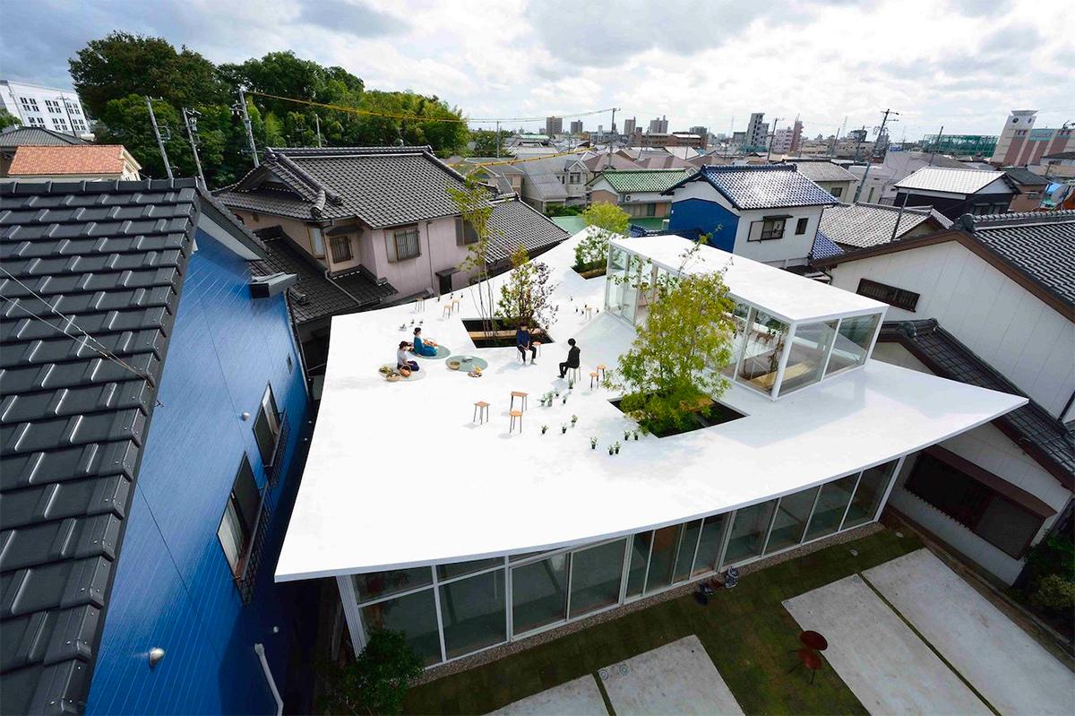 Studio Velocity (Япония). Офис с парком на крыше