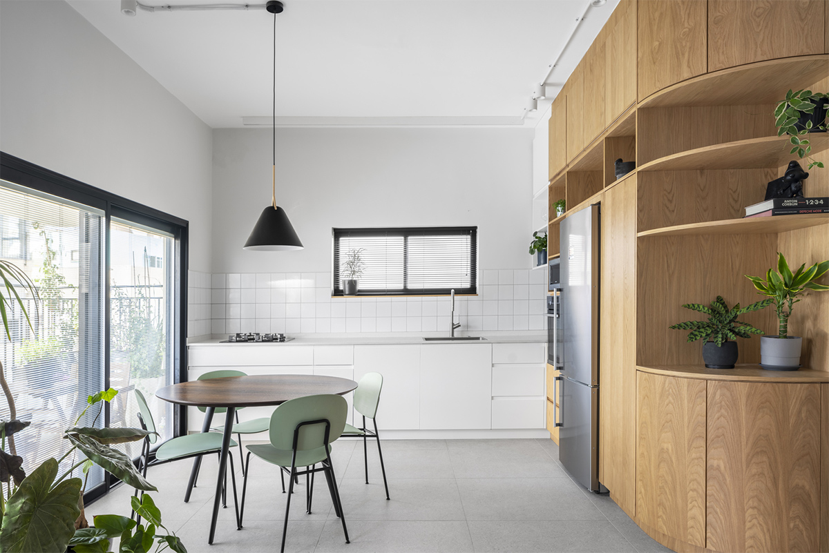 RUST architects (Израиль). Квартира в Тель-Авиве