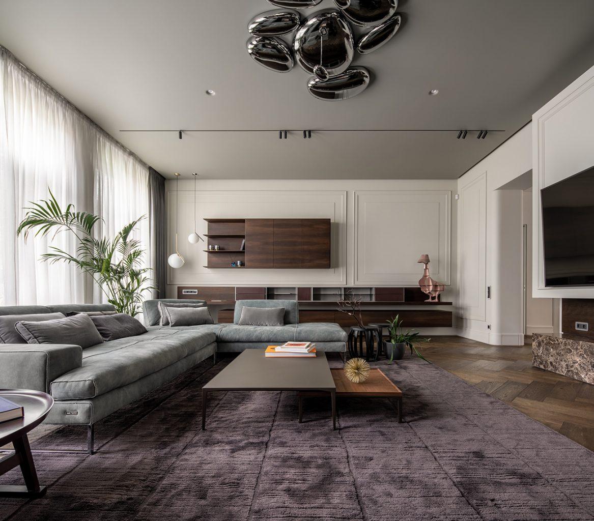 Replus Design Bureau (Украина). Квартира во Львове