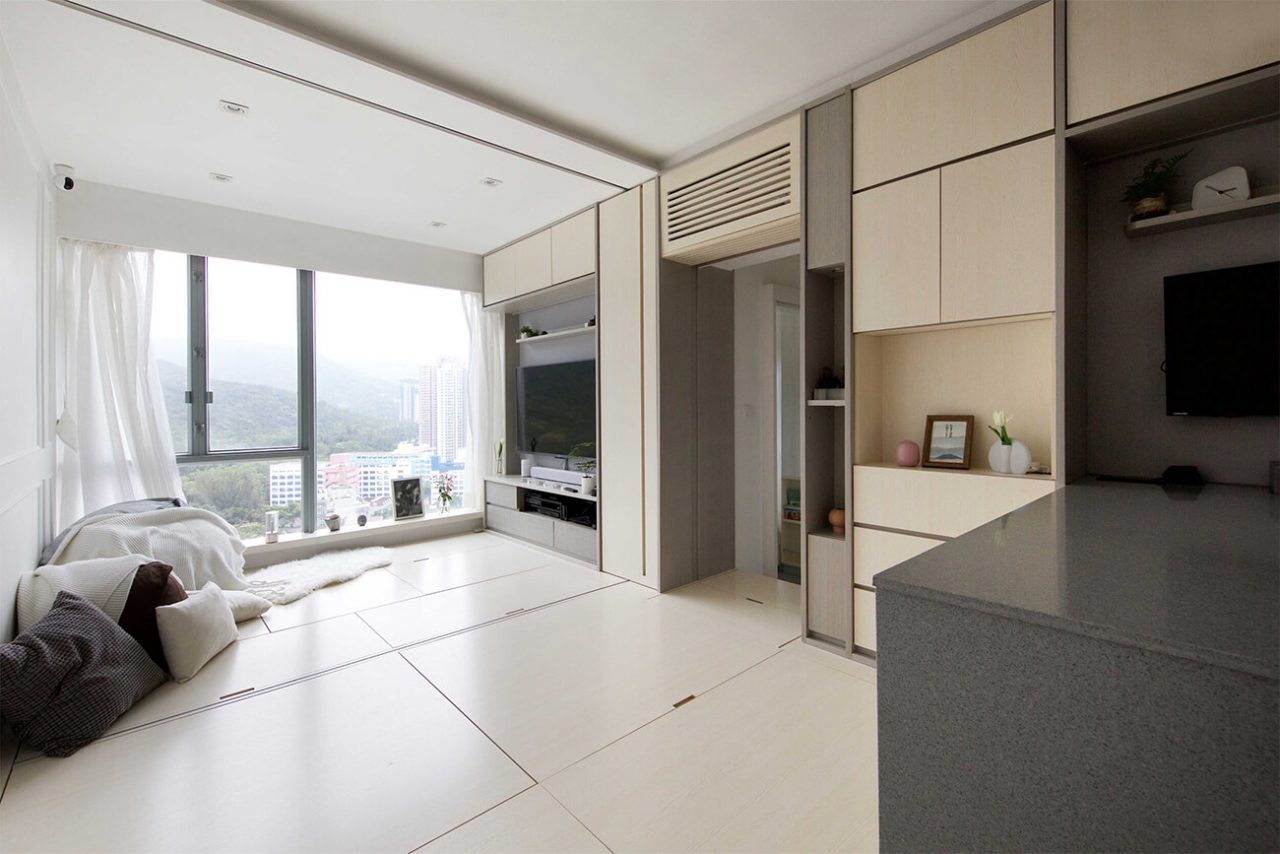 Sim-Plex (Гонконг). Четырехкомнатная смарт-квартира
