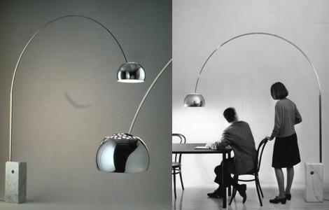 ARCO напольная лампа
