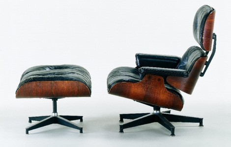Lounge Chair and Ottoman, 1956