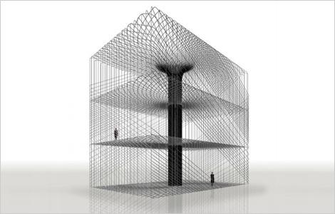 Tokujin Yoshioka - Fiber Architecture