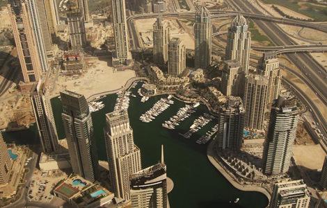 Грандиозная застройка Дубая (фото)