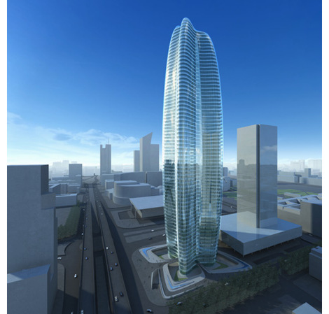 Lilium Tower / Zaha Hadid