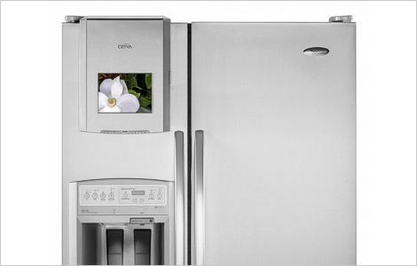 Холодильник Whirlpool: Паштет, портрет и интернет