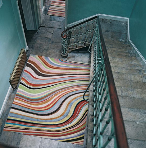 Rug - Swirl (Paul Smith)