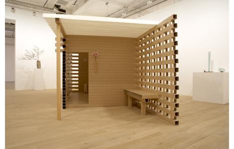 Шигеру Бан (Shigeru Ban) - Чайный домик (2008)