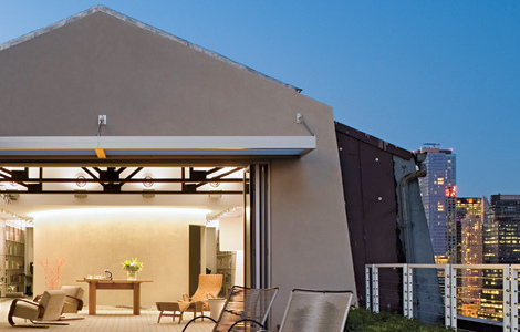 Robert A. M. Stern Architects. Необычный пентхаус Роберта Стерна