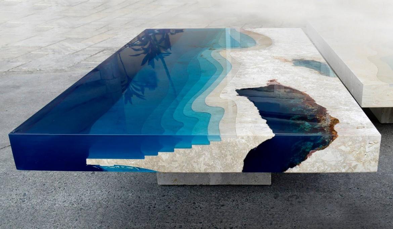 Александр Шаплин (Франция). Ландшафтный стол