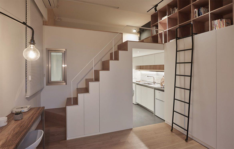 A Little Design (Тайвань). 22-метровая квартира
