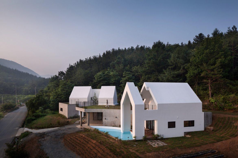 Rieuldorang Atelier (Южная Корея). Дом вокруг дерева