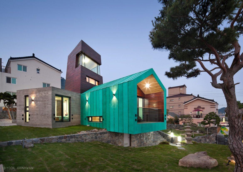 ON Architecture (Южная Корея). Дом с наблюдательным пунктом