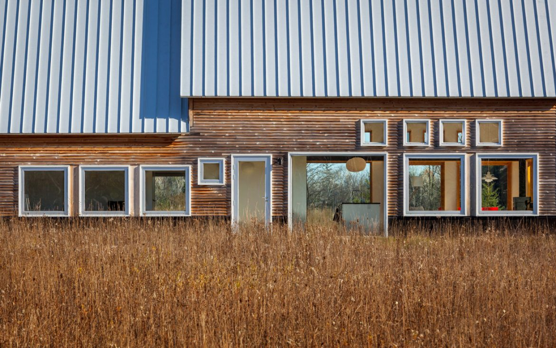 Salmela Architect (США). Дом с кедровым фасадом