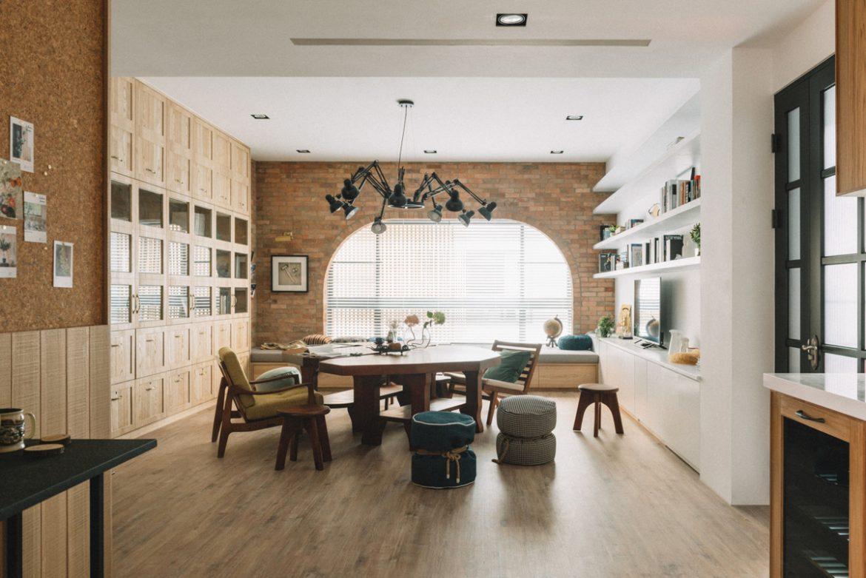 HAO Design (Тайвань). Дом-квартира с мостом