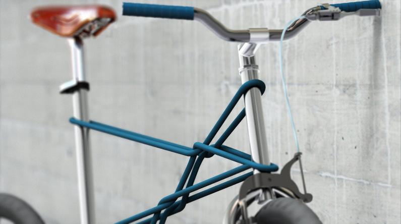 Playful Design (Швеция). Велосипед с рамой в виде веревки
