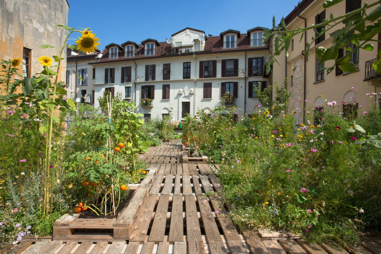 Piuarch (Италия). Огород на крыше