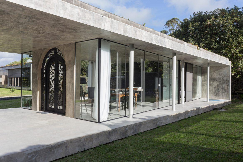 ARCO Mais (Португалия). Дом из стекла и бетона