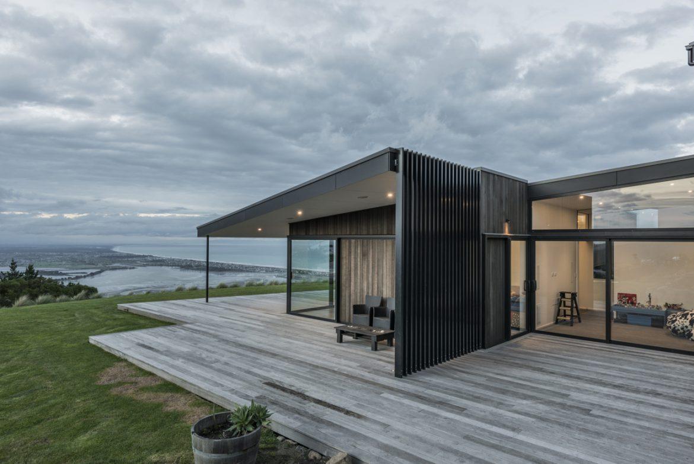 Cymon Allfrey Architects (Новая Зеландия). Дом против ветра