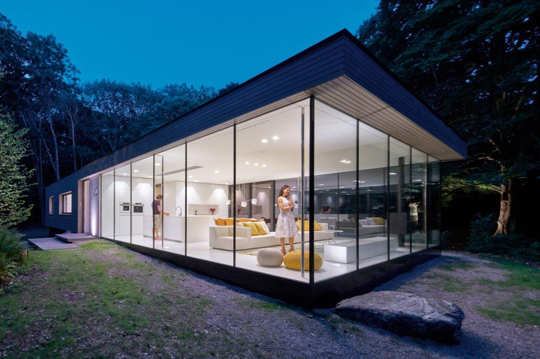 Reitsma & Partner Architects (Нидерланды). Прозрачная вилла