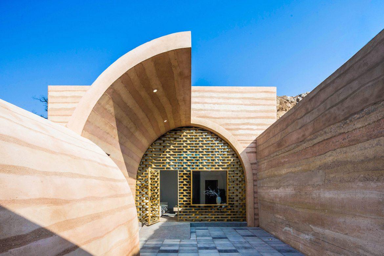 HyperSity Architects (Китай). Пещерный дом