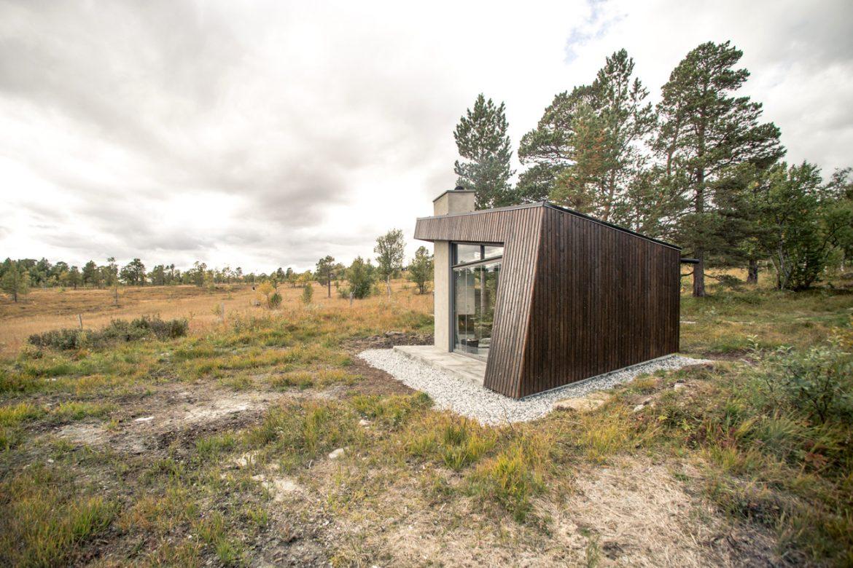 Bergersen Arkitekter AS (Норвегия). Домик для созерцания гор